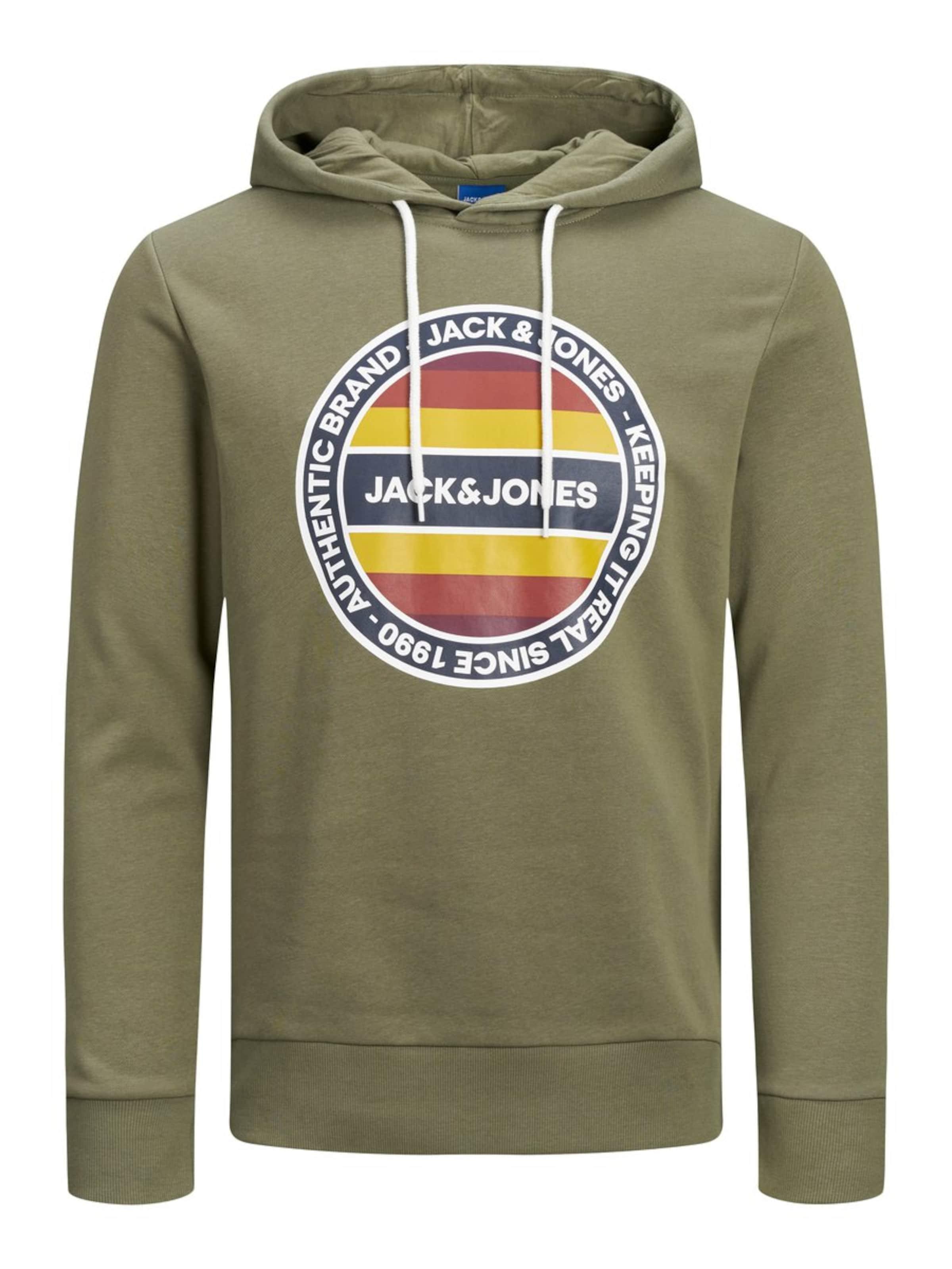 Jones Jones In Jones OlivWeiß Sweatshirt OlivWeiß Jackamp; Jackamp; Sweatshirt In Jackamp; fgy7b6