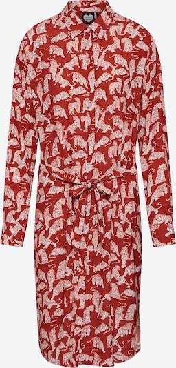 CATWALK JUNKIE Robe-chemise 'Tiger Love' en marron: Vue de face