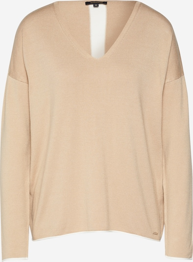 MORE & MORE Pullover 'With Contrast Active' in beige, Produktansicht