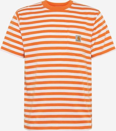 Carhartt WIP Särk oranž / valge: Eestvaade