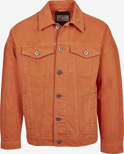 Urban Classics Light Jacket in dunkelorange: Frontalansicht