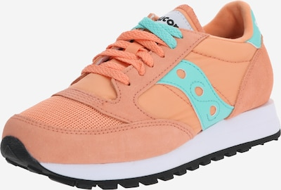 saucony Sneakers 'JAZZ ORIGINAL VINTAGE' in türkis / orange: Frontalansicht