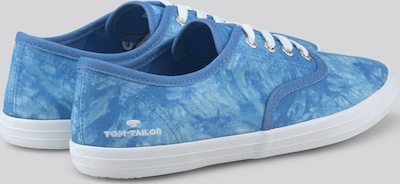 TOM TAILOR Shoes Batik Stoffsneaker in blau, Produktansicht