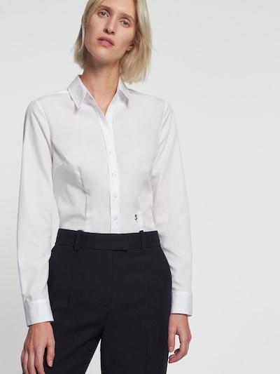 SEIDENSTICKER Blouse in de kleur Wit, Modelweergave