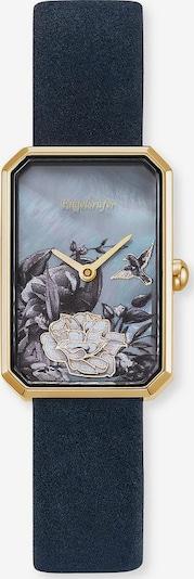 Engelsrufer Uhr in nachtblau / gold, Produktansicht