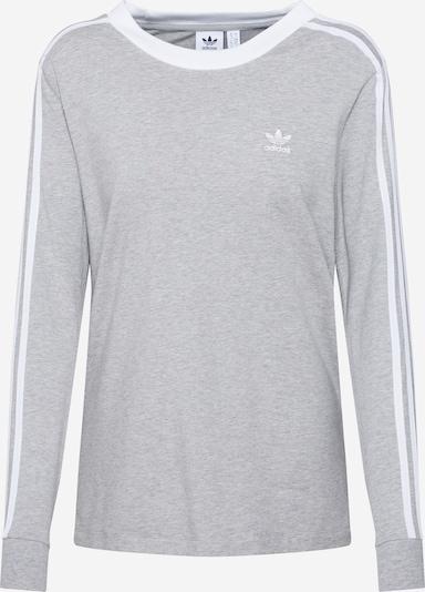 ADIDAS ORIGINALS T-shirt en gris chiné / blanc, Vue avec produit