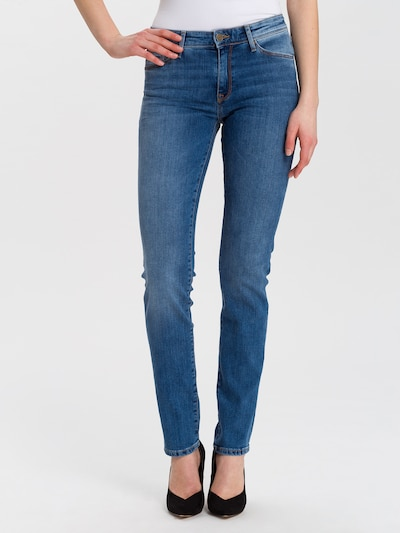 Cross Jeans Jeans 'Anya' in blue denim: Frontalansicht