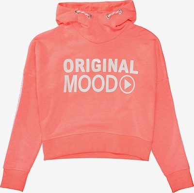 STACCATO Sweatshirt in rosa / weiß, Produktansicht