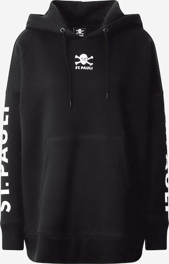 FC St. Pauli Sweat-shirt en noir / blanc, Vue avec produit