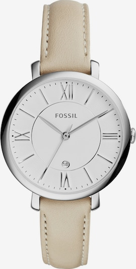 FOSSIL Armbanduhr 'JACQUELINE' in nude / silber, Produktansicht