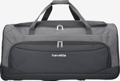 TRAVELITE Reisetasche 'Garda Pop' in grau / basaltgrau, Produktansicht