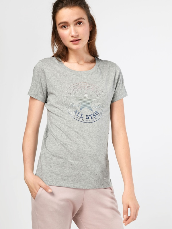 CONVERSE T-Shirt 'CLEAR FOIL CHUCK PATCH CREW TEE'