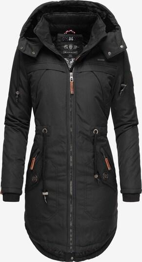 MARIKOO Wintermantel ' Kamii ' in schwarz, Produktansicht