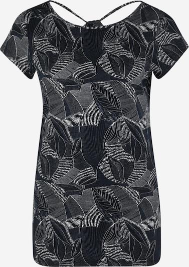 Noppies Shirt 'Cecil' in kobaltblau / dunkelgrau / weiß, Produktansicht