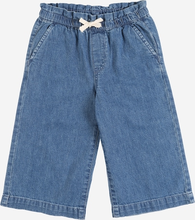 GAP Jeans 'V-WIDE LEG CROP' in black denim, Produktansicht
