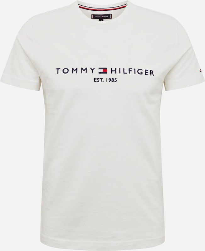 TOMMY HILFIGER Shirt in de kleur Donkerblauw / Rood / Wit, Productweergave