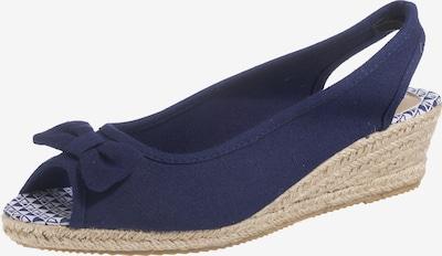 LASCANA Slingpumps in marine, Produktansicht
