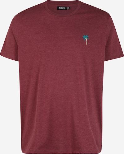 BURTON MENSWEAR LONDON (Big & Tall) T-Shirt in burgunder, Produktansicht
