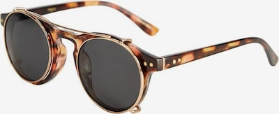 MANGO MAN Sonnenbrille in cognac / schwarz, Produktansicht