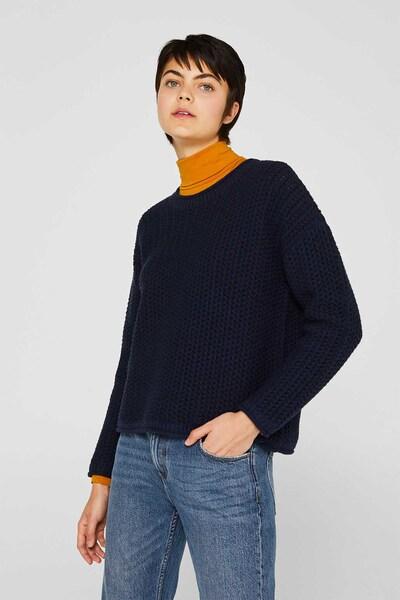 ESPRIT Pullover in navy, Modelansicht