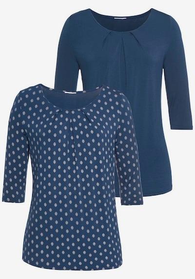 LASCANA Shirt in de kleur Blauw: Vooraanzicht