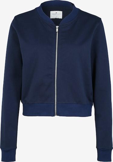 Cross Jeans Sweatjacke in kobaltblau, Produktansicht