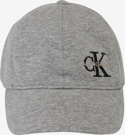 Calvin Klein Jeans Kapa 'MONOGRAM BASEBALL CA' u siva melange, Pregled proizvoda