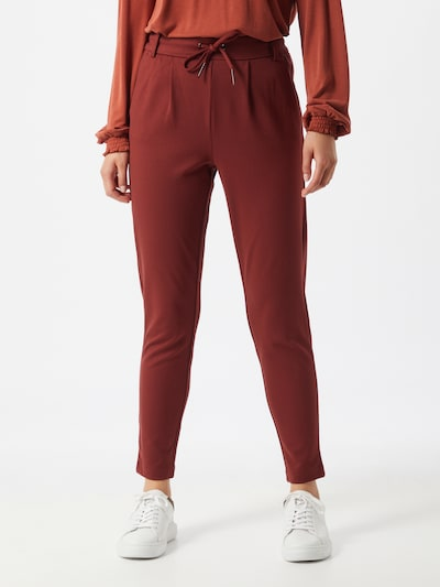 ONLY Trousers in Dark red, View model