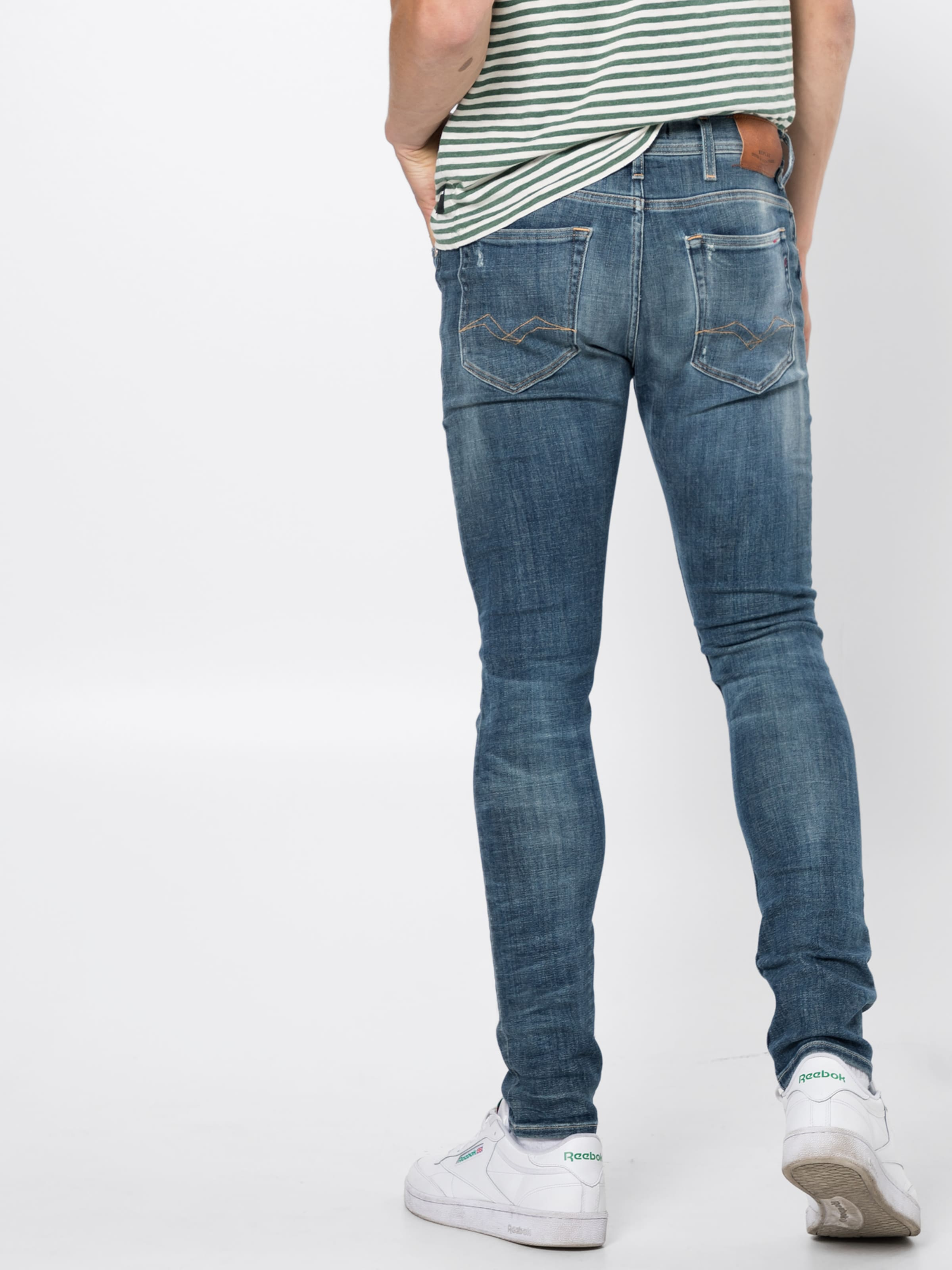 In Jeans Blue Denim 'jondrill' Replay CexodB