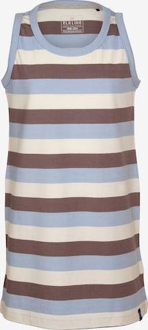 ELKLINE Kleid 'Curled' in Blau