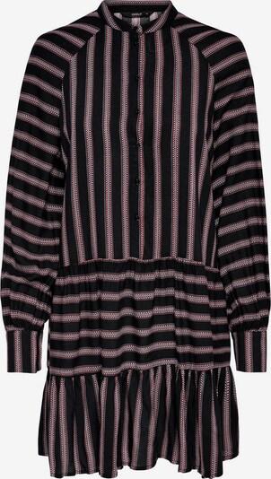 ONLY Blousejurk in de kleur Lichtgrijs / Pitaja roze / Zwart: Vooraanzicht