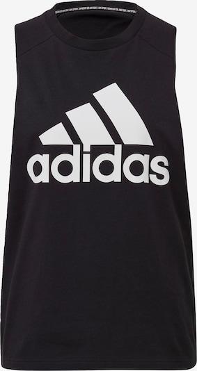 ADIDAS PERFORMANCE Haut de sport en noir / blanc, Vue avec produit
