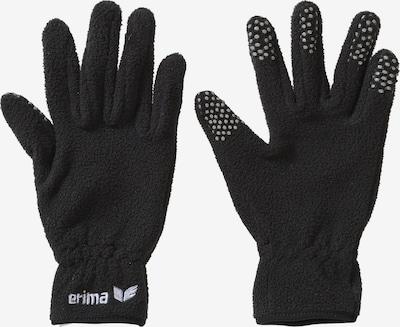 ERIMA Feldspielerhandschuhe in schwarz / weiß, Produktansicht