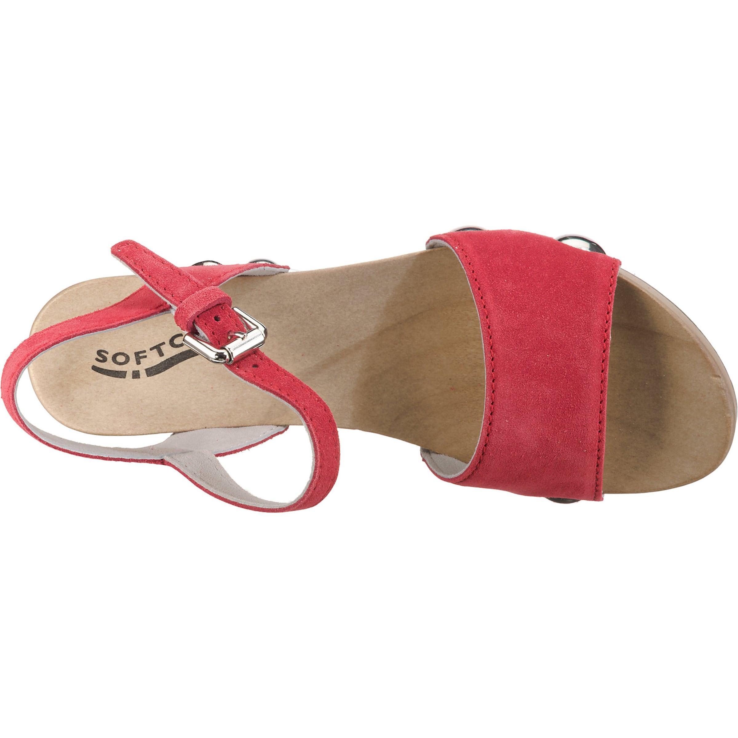 'eilyn' Rot 'eilyn' Sandalette Softclox In Rot Softclox In Softclox Sandalette RjqA5Sc34L