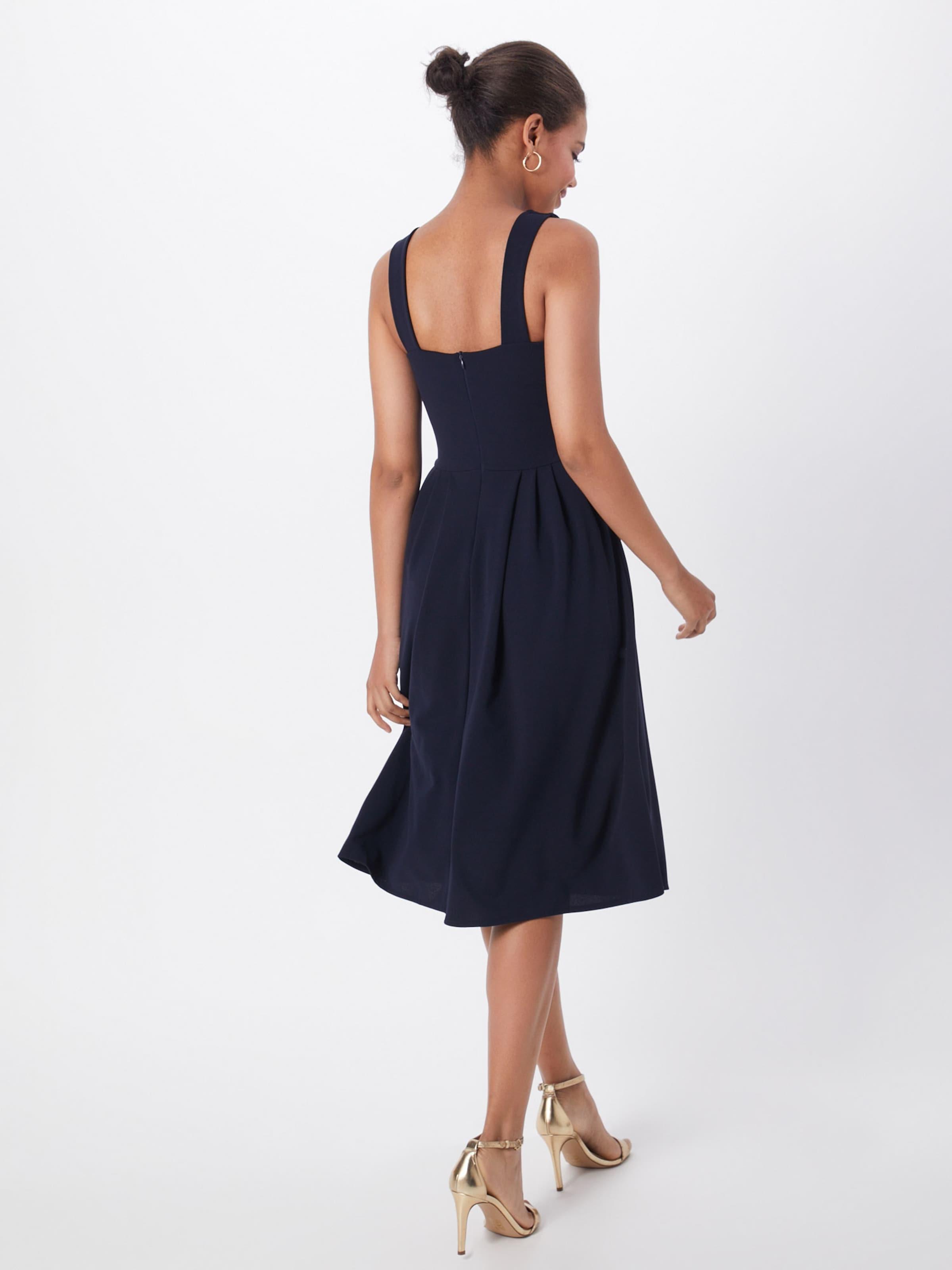 WAL G. Cocktailklänning 'WG 6275' i marinblå