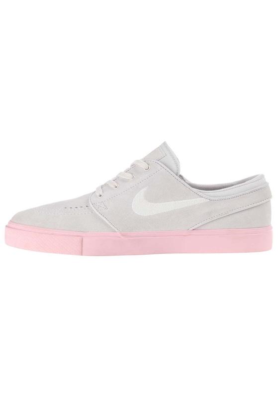 Nike SB 'Zoom Stefan Janoski' Sneaker in grau rosa