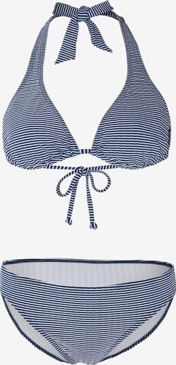 CHIEMSEE Športne bikini | temno modra / bela barva, Prikaz izdelka