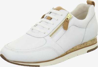 GABOR Sneaker in hellbraun / weiß, Produktansicht