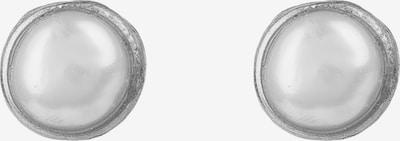 Latelita Ohrringe in silber / perlweiß, Produktansicht