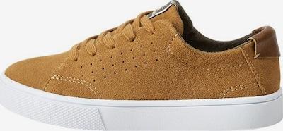 MANGO KIDS Sneaker 'Campbell' in cognac: Frontalansicht