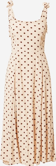 OBJECT Kleid in beige / offwhite, Produktansicht