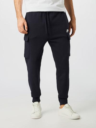 Nike Sportswear Sweathose 'M NSW CLUB PANT CARGO BB' in schwarz, Modelansicht
