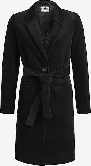 khujo Wintermantel 'LUMERA' in de kleur Zwart, Productweergave