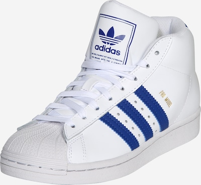 ADIDAS ORIGINALS Schuhe 'Pro Model J' in royalblau / weiß, Produktansicht