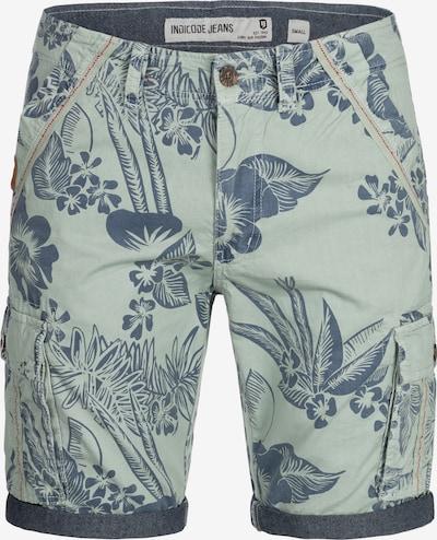 INDICODE JEANS Shorts 'Albert' in blau / azur: Frontalansicht