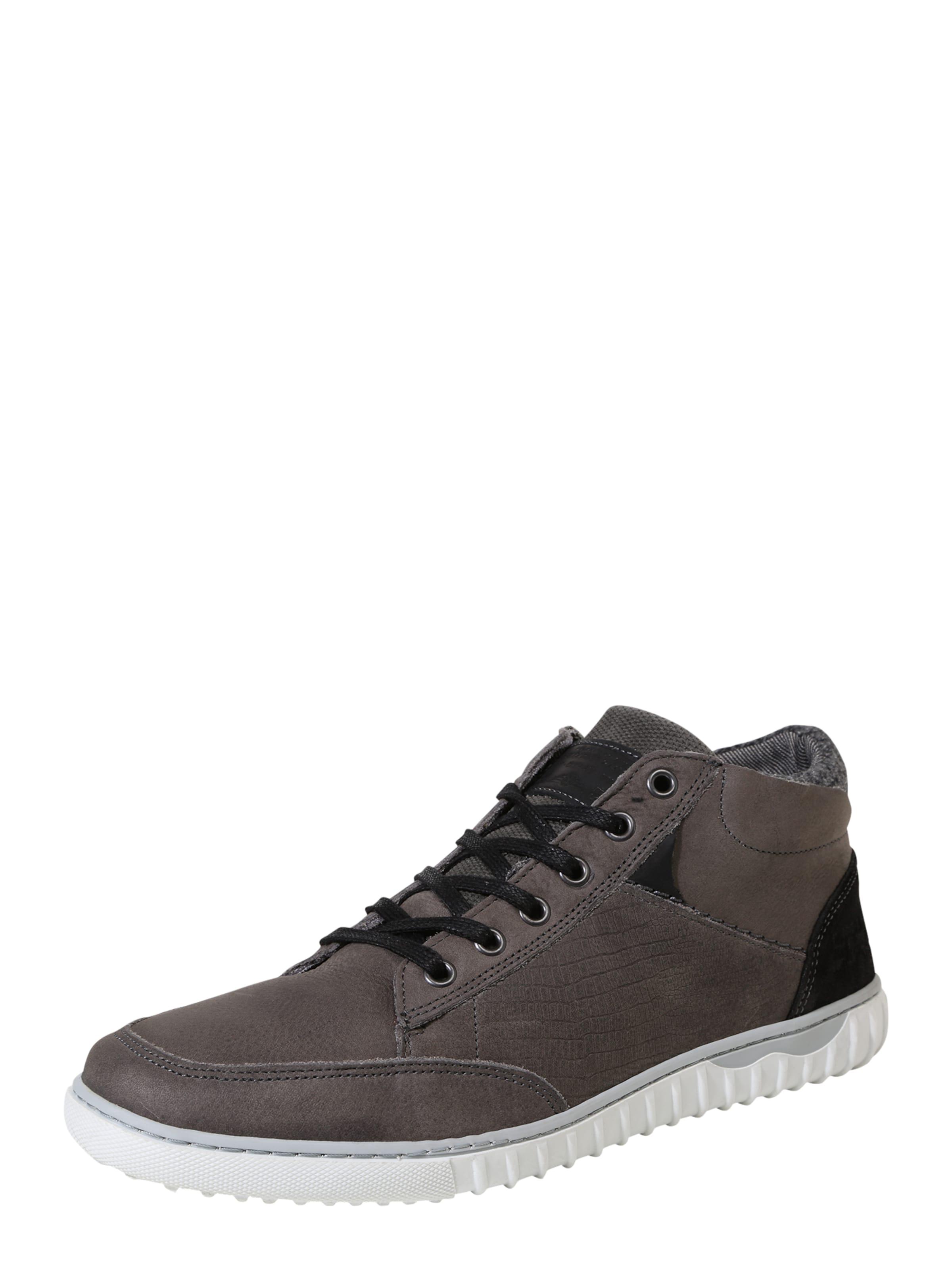 BULLBOXER Sneaker mit Snakeskin-Prägung Verschleißfeste billige Schuhe