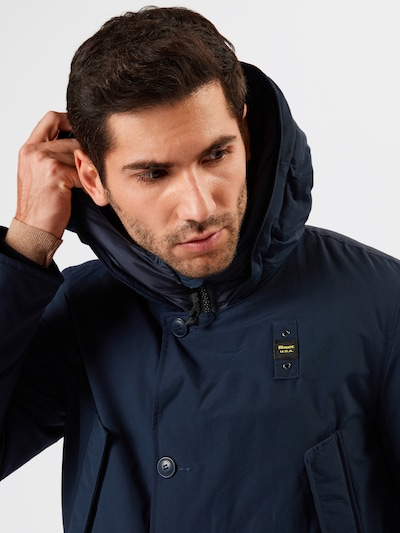 Blauer.USA Jacke 'TRENCH LUNGHI' in blau | ABOUT YOU