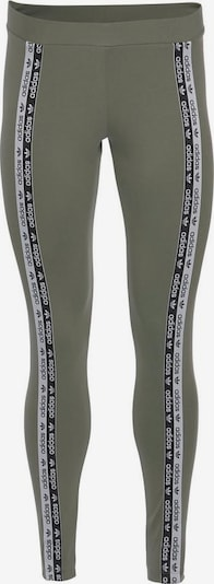 ADIDAS ORIGINALS Leggings 'Tights' in khaki / schwarz / weiß, Produktansicht
