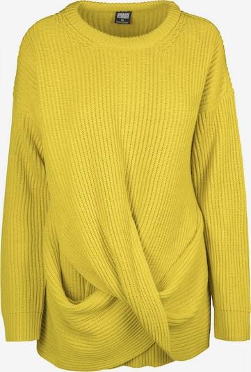 Urban Classics Curvy Pullover in senf, Produktansicht