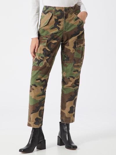 POLO RALPH LAUREN Kargo hlače | kaki barva, Prikaz modela